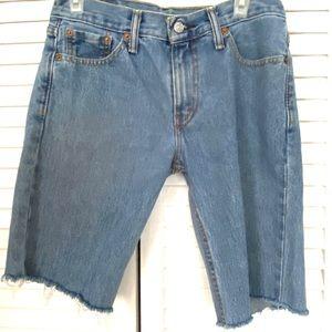 Levi's Men's 511 Jeans Cutoffs 30 x 32